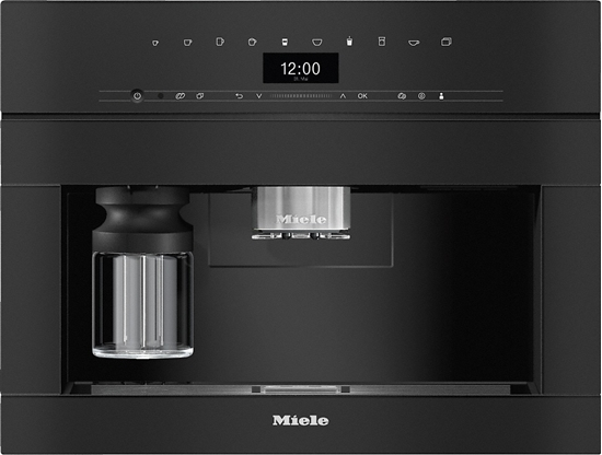 Picture of Miele coffee machine CVA 7440 (obsidian black) - built-in device