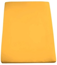 Picture of Formesse Bella Donna Jersey Fitted Sheet Gold Yellow 90 x 190 - 100 x 220