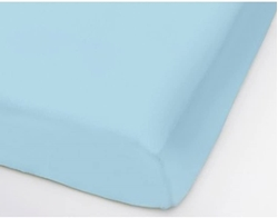 Picture of Formesse Bella Donna Jersey Fitted Sheet 180 x 200 - 200 x 220 cm Light Blue 0522