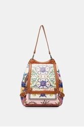 Picture of Desigual Large paisley backpack