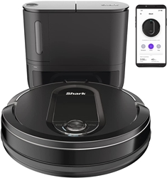 Picture of Shark vacuum robot RV1000SEU Automatic Bagless Suction Station, Anti-Hair Wrap Technology, Carpets and Hard Floors, WiFi App, Pet Hair