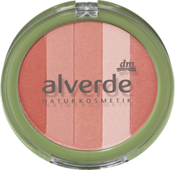Picture of alverde NATURAL COSMETICS Rouge Multi Shimmer Blush, 9 g