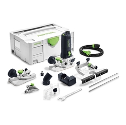 Picture of Edge milling machine Festool MFK 700 EQ-Set, 574364 720 W, 6-8mm, with collet, router table and case