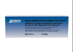 Picture of Set of 5 Boson Biotech Rapid SARS-CoV-2 antigen rapid test