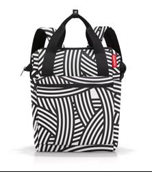 Picture of Reisenthel  handbag and rucksack allrounder R Zebra
