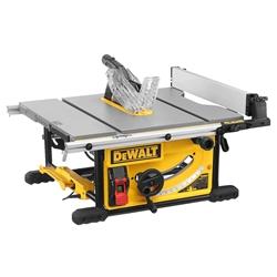 Picture of DeWalt powerful 250 mm circular table saw - DWE7492-QS