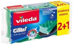 Picture of Vileda Pot cleaner Glitzi Pur Active, 3 pcs