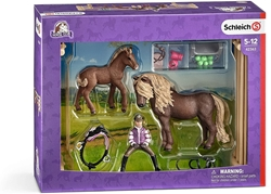 Picture of Schleich rider with Icelandic ponies (42363)
