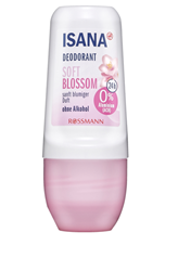 Picture of ISANA Deodorant Roll-On Soft Blossom