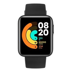 Picture of XIAOMI Mi Watch Lite, Smartwatch, 120 mm + 90 mm, Black