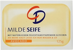 Picture of CD Soap bar mild avocado, 125 g