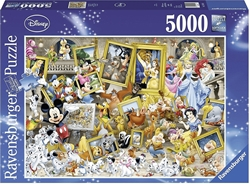 Picture of Ravensburger Mickey as an artist (5000 pieces)