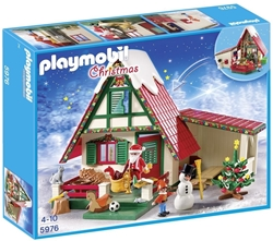 Picture of Playmobil Christmas - At home with Santa Claus (5976)